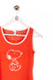 Snoopy Tanktop  Print Orange