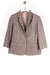 Blazer Basic Look Grau/Gestreift