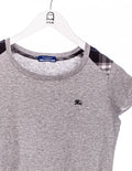 Burberry Blue Label Logo Stick T-Shirt Grau - Burberry at Zeitgeist Vintage