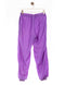 Retro Plain Print Trackpant Lila