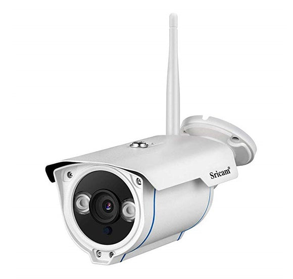 Wireless Security Camera with Night Vision & Cellphone Alerts