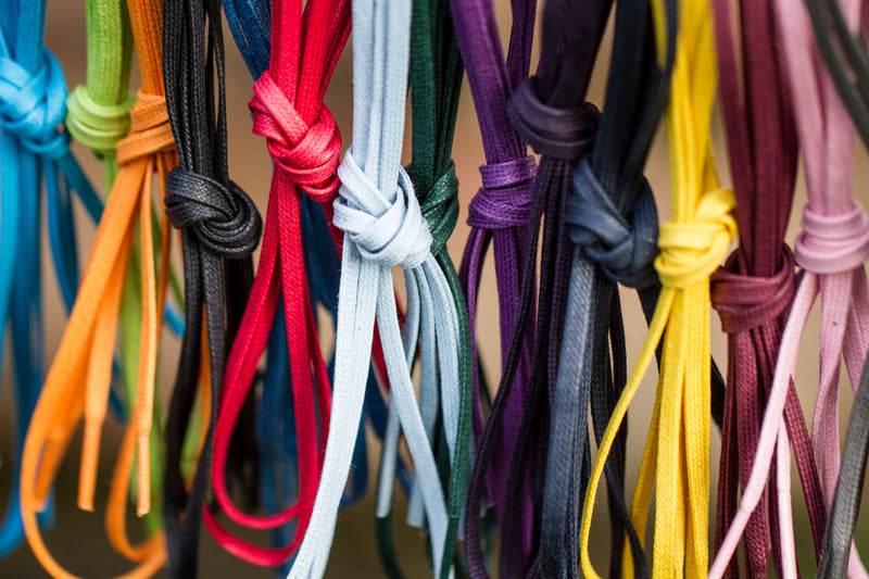 75cm Flat Waxed Dress Shoe Laces - 5 for £20 - The Shoe Snob