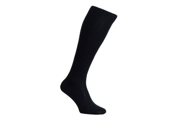 Danvers Fil d'Ecosse - Men's Navy Socks