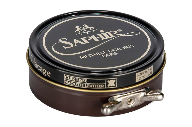05 Dark Brown - Saphir Medaille D'or Pate-De-Luxe Beeswax Shoe Polish 100ml