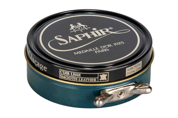 20 Dark Green - Saphir Medaille D'or Pate-De-Luxe Beeswax Shoe Polish 100ml - The Shoe Snob