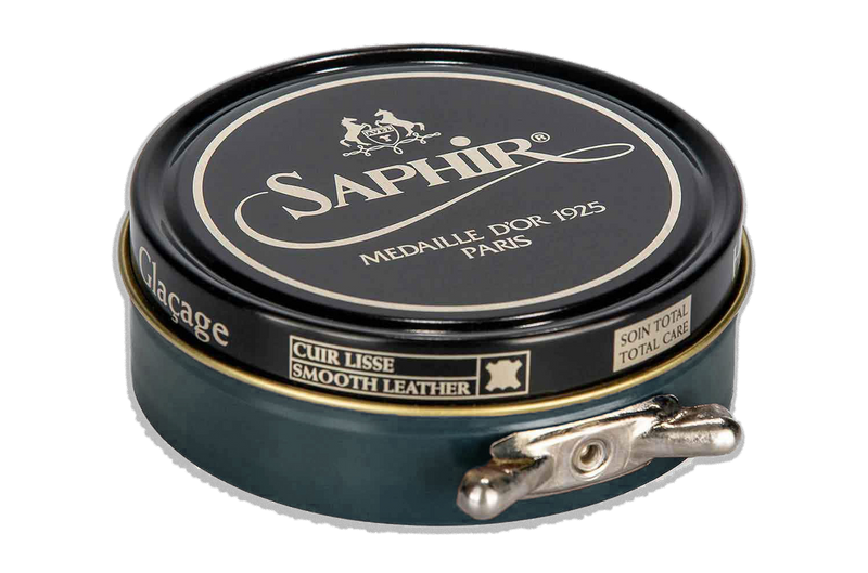 14 Grey - Saphir Medaille D'or Pate-De-Luxe Beeswax Shoe Polish 100ml