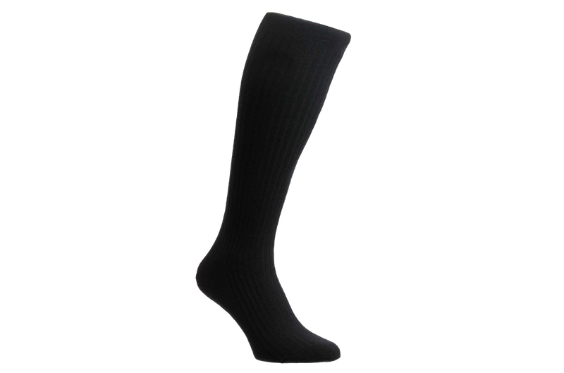 Kangley 100% Merino Wool - Men's Black Socks