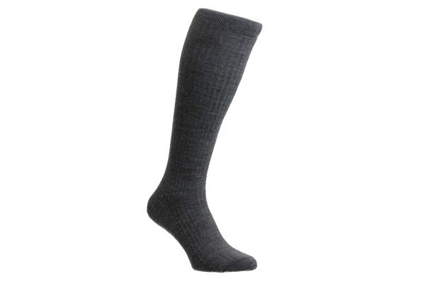 Kangley 100% Merino Wool - Men's Dark Grey Socks