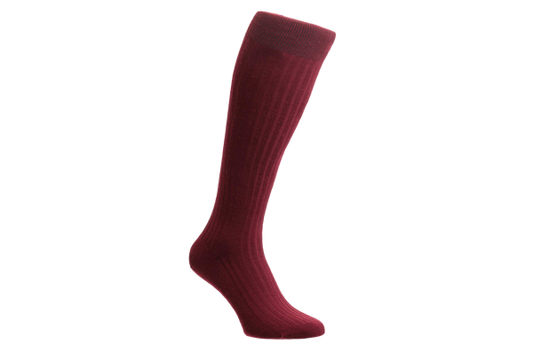 Laburnum Merino Wool – Men's Wine Socks