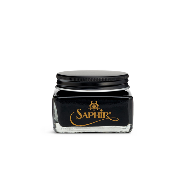 01 Black - Saphir Medaille D'Or Cordovan Cream Polish 75ml