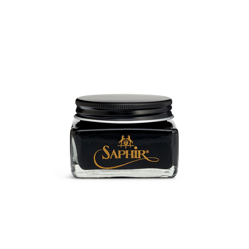 01 Black - Saphir Médaille d'Or Pommadier Cream Shoe Polish 75ml