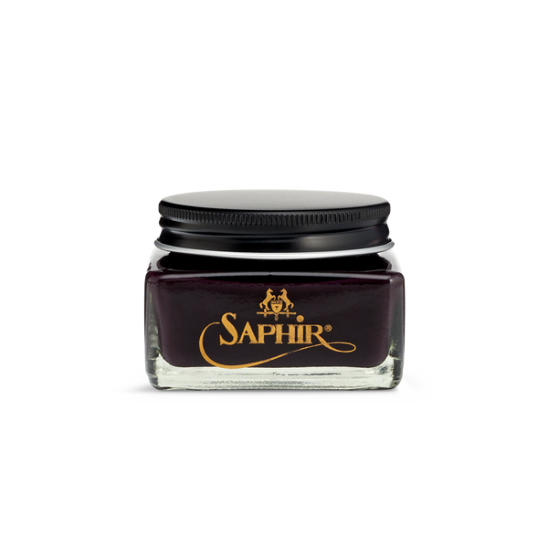 08 Burgundy - Saphir Médaille d'Or Pommadier Cream Shoe Polish 75ml - The Shoe Snob