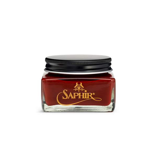 09 Mahogany - Saphir Médaille d'Or Pommadier Cream Shoe Polish 75ml - The Shoe Snob