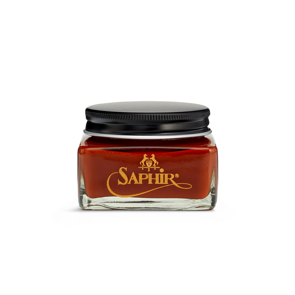 10 Cognac - Saphir Médaille d'Or Pommadier Cream Shoe Polish 75ml - The Shoe Snob