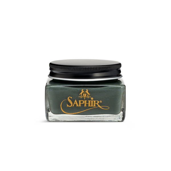 14 Grey - Saphir Médaille d'Or Pommadier Cream Shoe Polish 75ml - The Shoe Snob