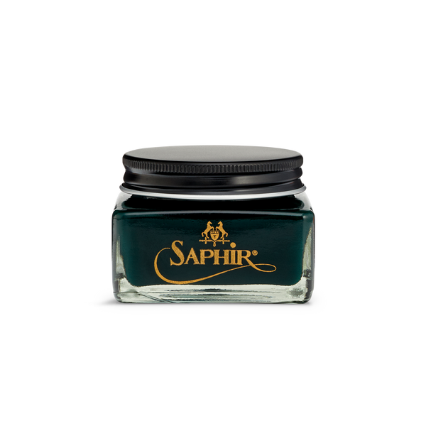 20 Dark Green - Saphir Médaille d'Or Pommadier Cream Shoe Polish 75ml - The Shoe Snob