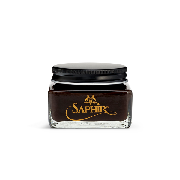910 Parisian Brown - Saphir Médaille d'Or Pommadier Cream Shoe Polish 75ml - The Shoe Snob