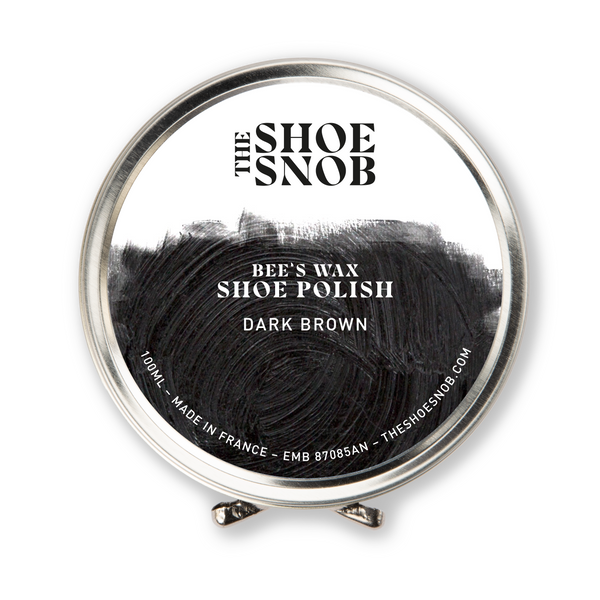 Beeswax Shoe Polish - Dark Brown