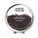 Beeswax Shoe Polish 100ml - Mid Brown - The Shoe Snob
