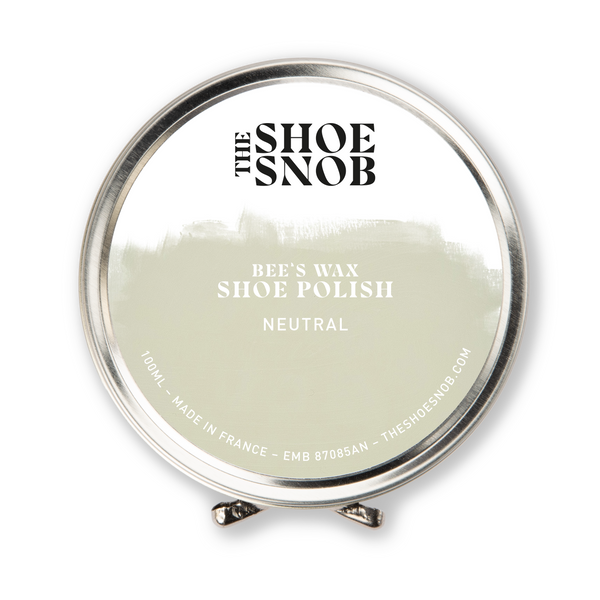 Beeswax Shoe Polish - Neutral