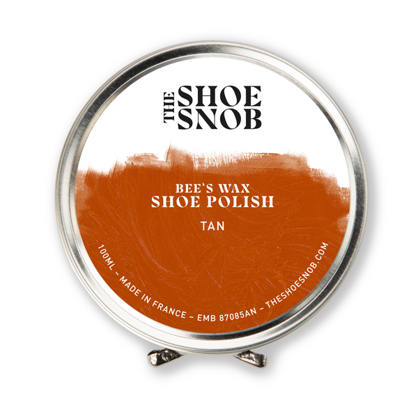 Beeswax Shoe Polish - Tan