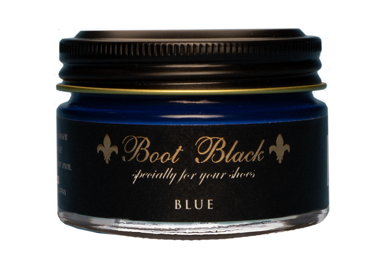 Boot Black 'Black Label' Shoe Cream - Blue