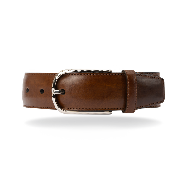 Leather Belt - Cognac Calf