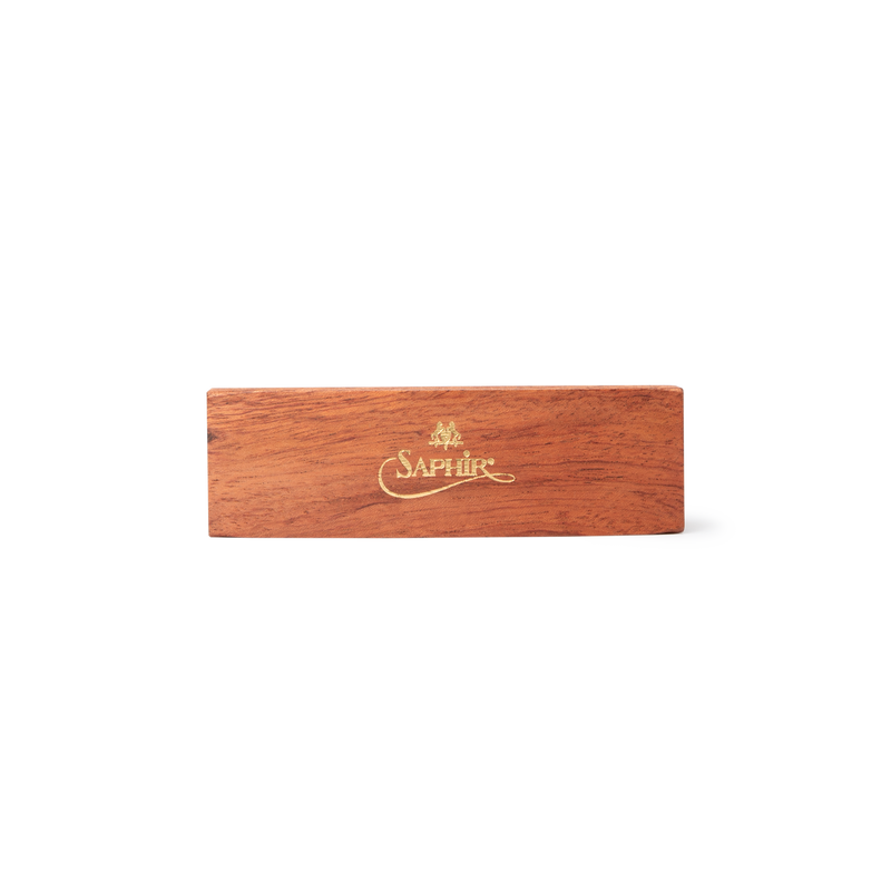 Saphir Medaille D'or Boar Bristle Shoe Brush - Natural