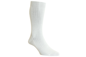 White - Classic Mid Calf Lenght Socks Collection