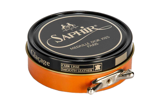 79 Wax Yellow - Saphir Medaille D'or Pate-De-Luxe Beeswax Shoe Polish 100ml - The Shoe Snob