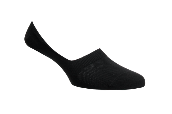 Men's Black Invisible / No Show Socks