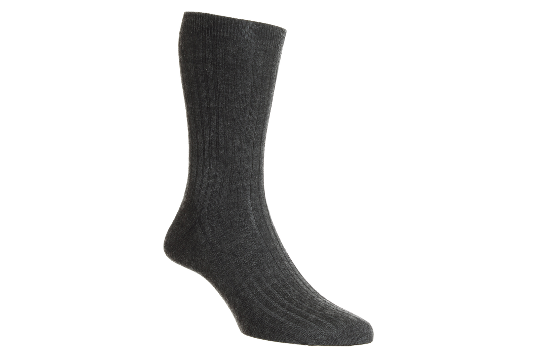 Royal Collection 100% Cashmere - Dark Grey