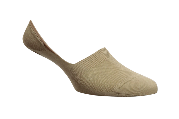 Men's Khaki Invisible / No Show Socks