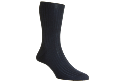 Royal Collection 100% Cashmere - Navy Blue - The Shoe Snob Shop