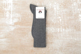 Cotton Lisle – Men's Knee Length Light Grey Socks - L(44-45) - The Shoe Snob