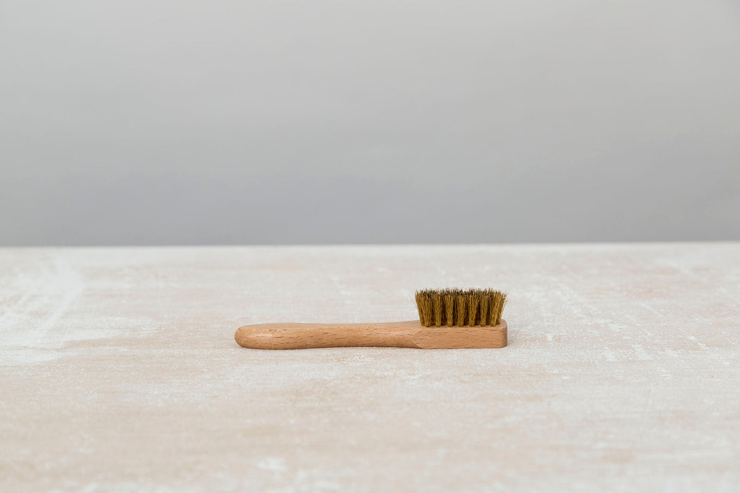 Suede Brush - Brass - The Shoe Snob Shop