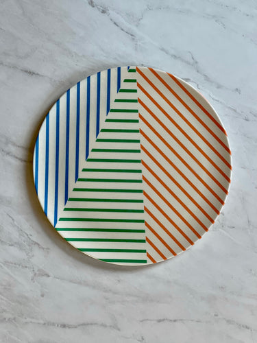 Marseille Bamboo Dinner Plate