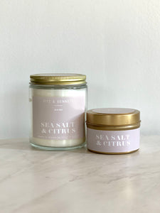 Sea Salt Citrus Candle