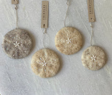 Load image into Gallery viewer, Sand Dollar Ornament by Thirdlee & Co.