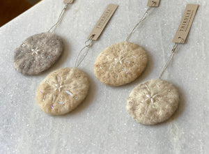 Sand Dollar Ornament by Thirdlee & Co.