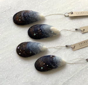 Mussel Ornament by Thirdlee & Co.