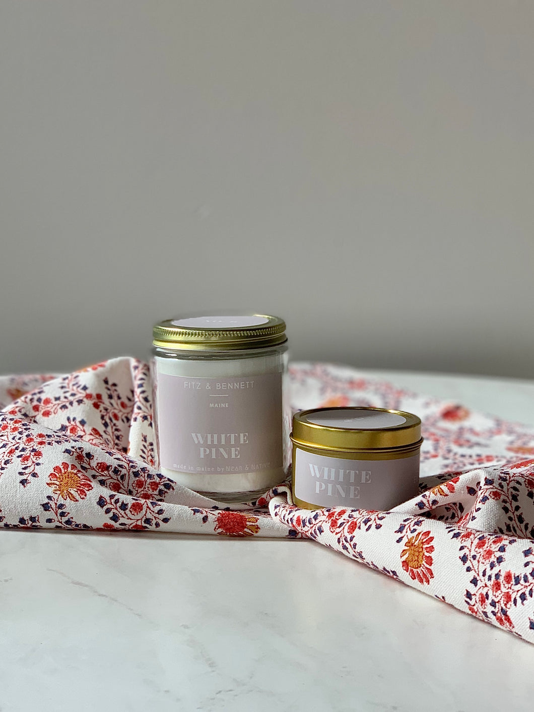 White Pine Candle