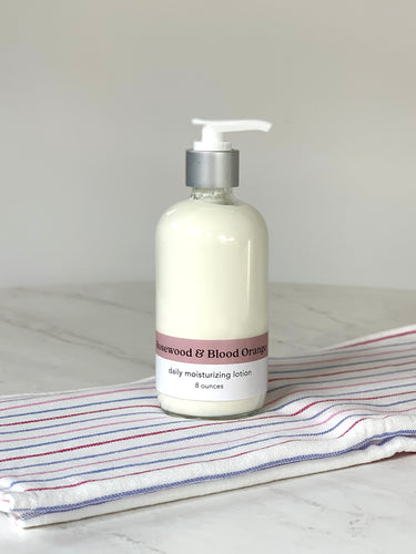Rosewood + Blood Orange Moisturizing Lotion