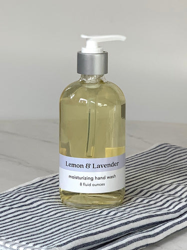 Lemon + Lavender Hand Wash