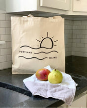 Load image into Gallery viewer, Portland Wave Tote