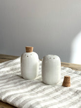 Load image into Gallery viewer, Cork Stopper Salt & Pepper Shakers