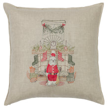 Load image into Gallery viewer, Chimney Santa Pocket Pillow