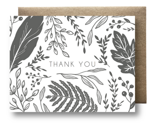 Wild Forage Thank You Card