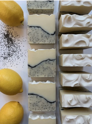 Lemon Poppy Seed Soap