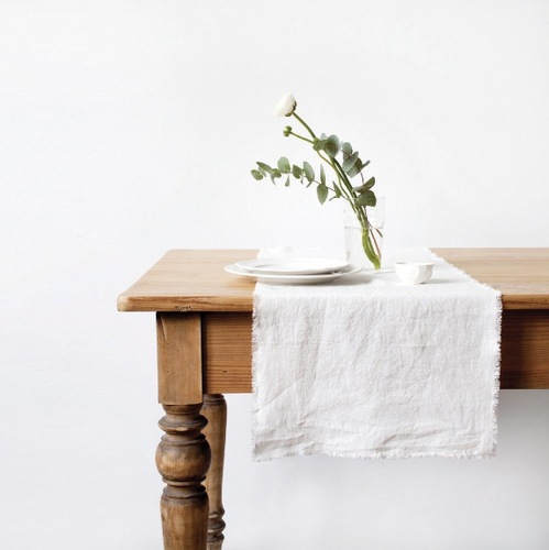 Fringe Edge Table Runner